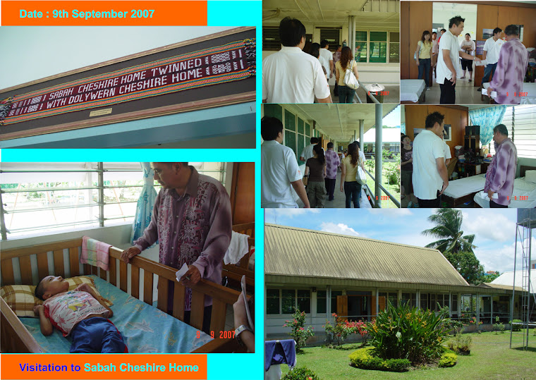 Visitation to Sabah Cheshire Home (9th September 2007)