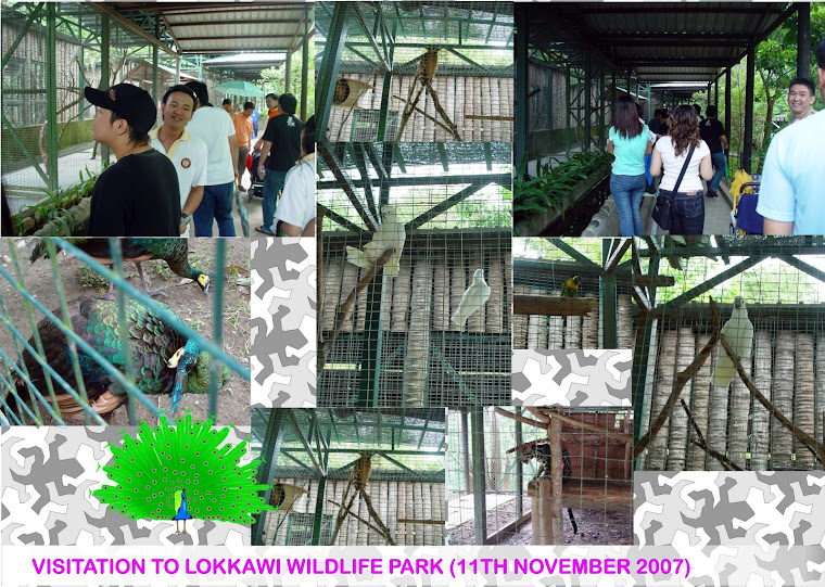 Visitation to Lokkawi Wildlife Park (11th November 2007)
