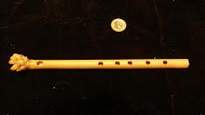 Flauta  transversal de bambu