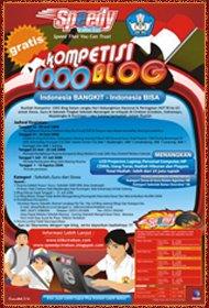 Kompetisi 1000 Blog