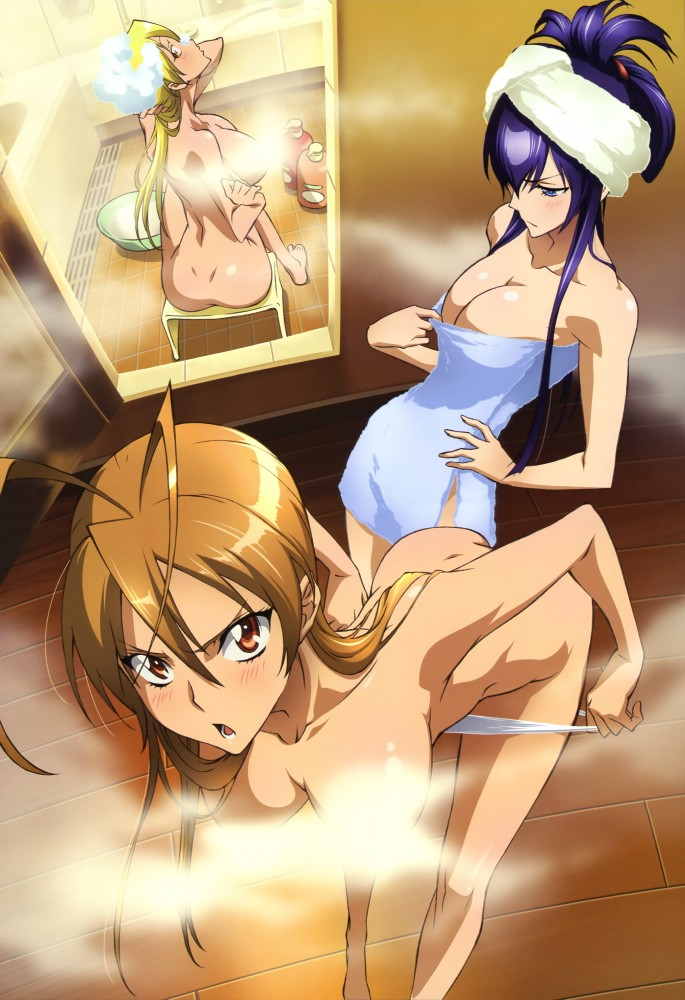 Highschool of the dead saeko nude