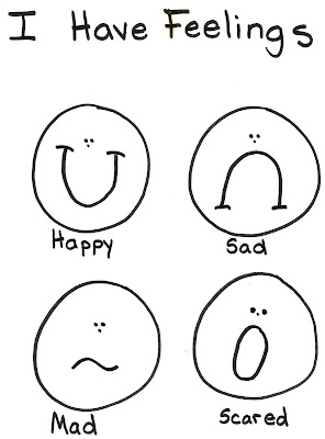 Lds Nursery Color Pages 21 I Have Feelings Emotion Faces Coloring Pages