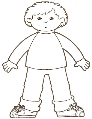 printable coloring pages girl body - photo#24
