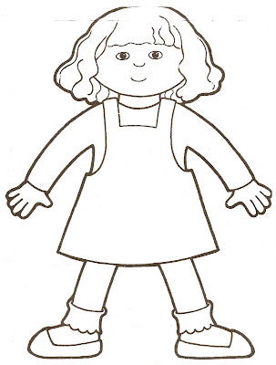 Search results for printable body outline template for Body outline coloring page