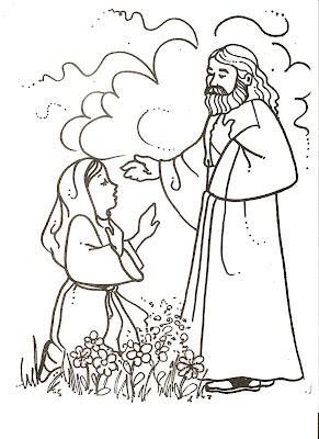 coloring pages on lds nursery color pages easter lesson - Lds Easter Coloring Pages