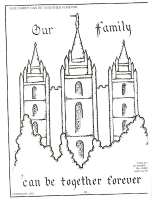 Coloring Pages on Lds Nursery Color Pages  September 2007
