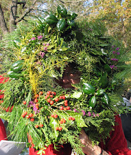 Holiday Wreath created by Stuart White