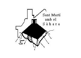 Sant Martí amb el Sáhara