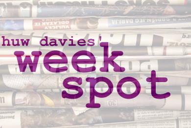 Huw Davies' Week Spot
