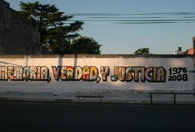 No olvidamos, no nos reconciliamos...1976-2008. Nunca más!!!