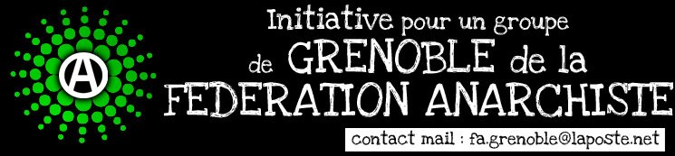 FEDERATION ANARCHISTE GRENOBLE