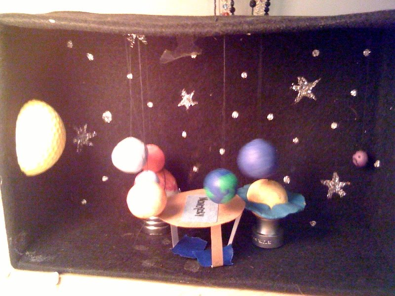 Christmas Shoebox Diorama.Belgrovesgs 2ndclass Making A Diorama