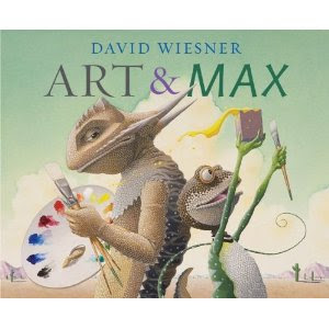 Art and Max by David Wiesner book cover