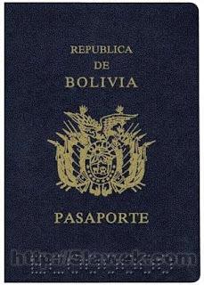 passaporto bolivia