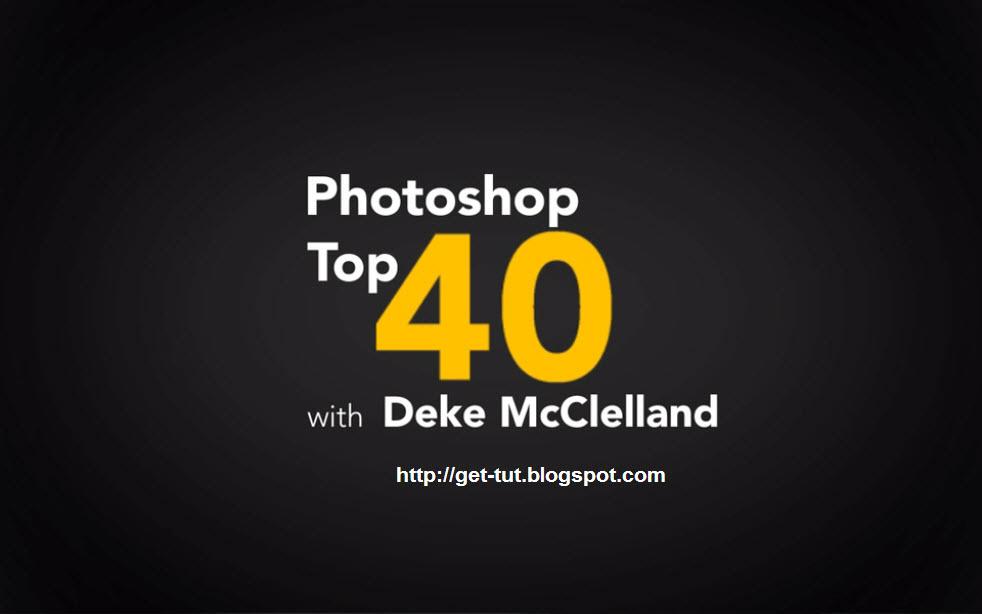 Download Free Tutorials: Lynda com Photoshop Top 40