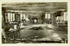 Battle Axe Inn interior
