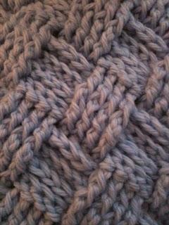 Brownie Knits: Basket Weave Crochet Blanket