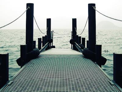 mare, acqua, pontile, navigare, sea,