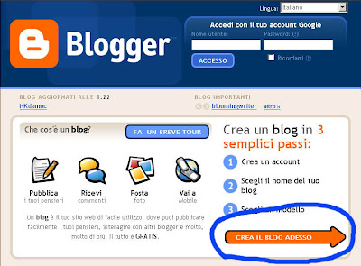 screenshot blogger, blogger, blogspot