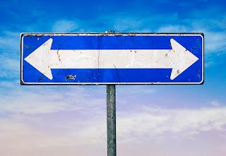 indicazione, cartello stradale, senso unico