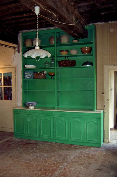 Uitgelezene Leven in de Morvan: Antieke keukenkast... FA-62