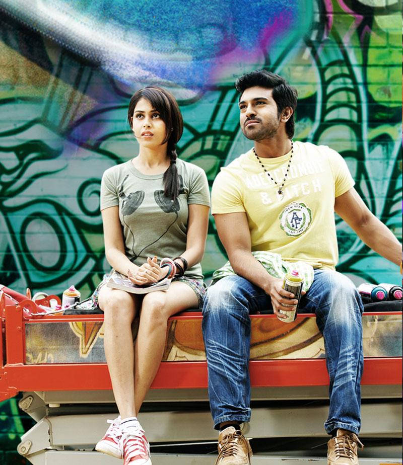 Murattu Kaalai Movie Latest Stills: CINE ENTERTAINMENT: Ram Charan And Genelia Stills From