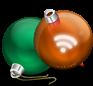iconos feed bolas de navidad