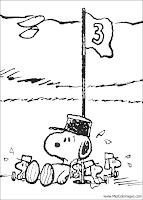 Snoopy para pintar