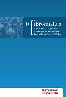 portada documento fibromialgia y sus implicaciones personales y sociales en la comunidad madrid