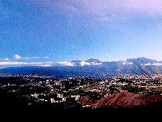 Panoramica de Caracas, capital venezolana