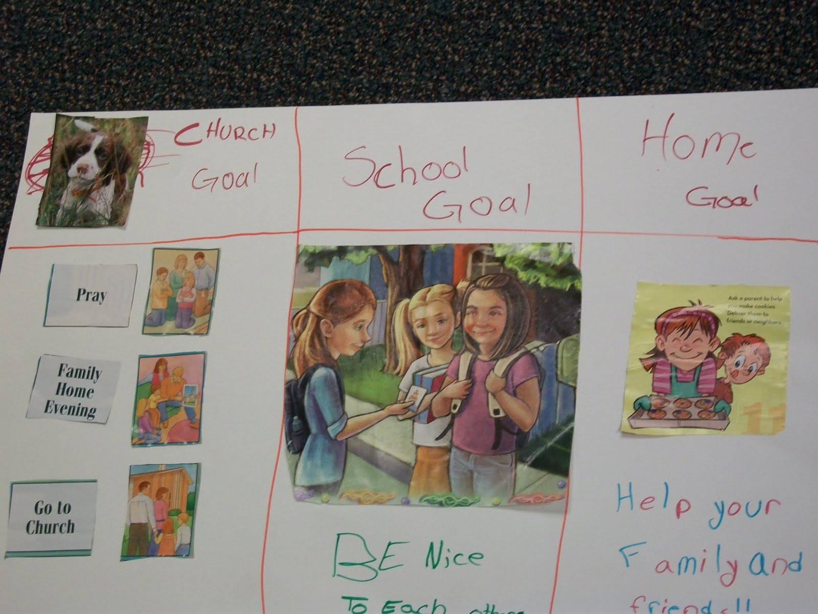 Activity Day Girls 8 18 Activity Vision Boards