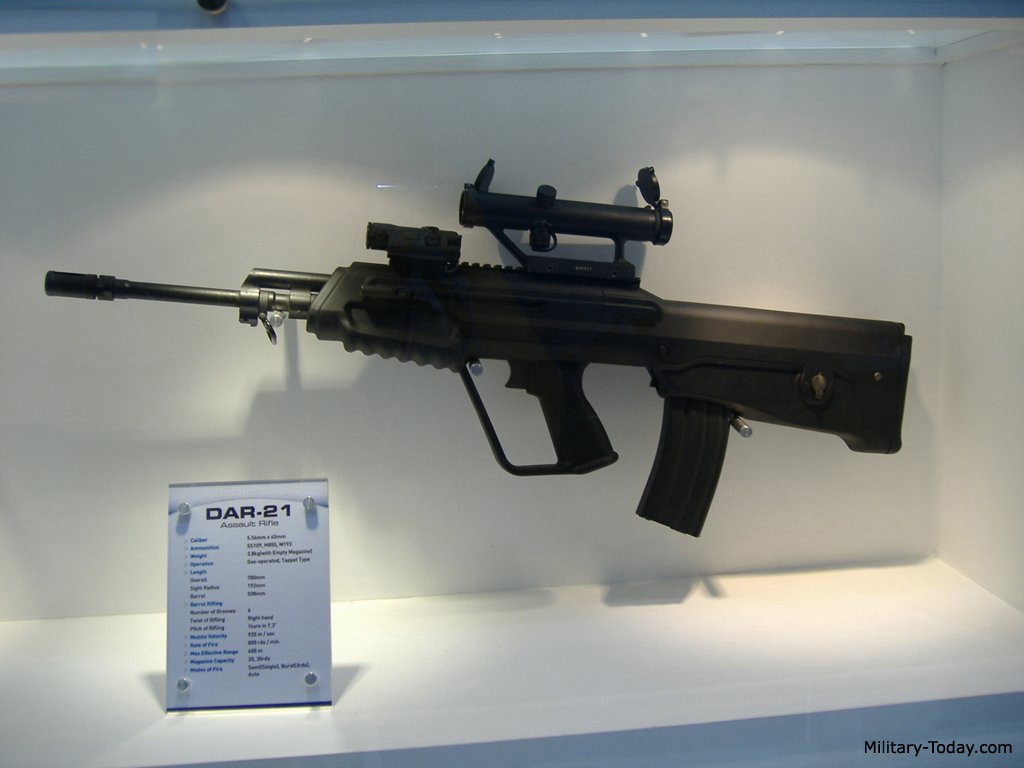 the daewoo xk8 is fed from the standard nato m16 type magazines holding 30 rounds it is also compatible with older 20 round magazines the daewoo xk8  [ 1024 x 768 Pixel ]