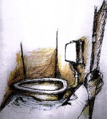 pickled eel toilet humour bangladesh. Black Bedroom Furniture Sets. Home Design Ideas