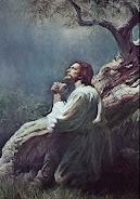 Jesucristo en Getsemaní