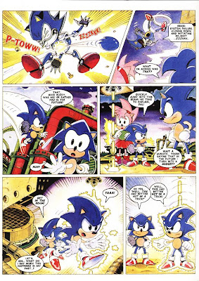 sega memories sonic the comic online
