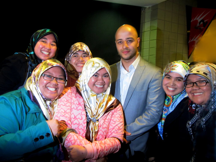 CiHM Family: A moment with Maher Zain