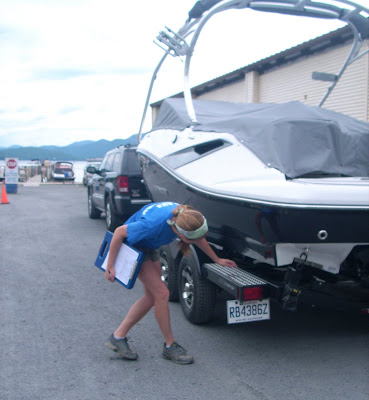 Inspect your boat for zebra mussels