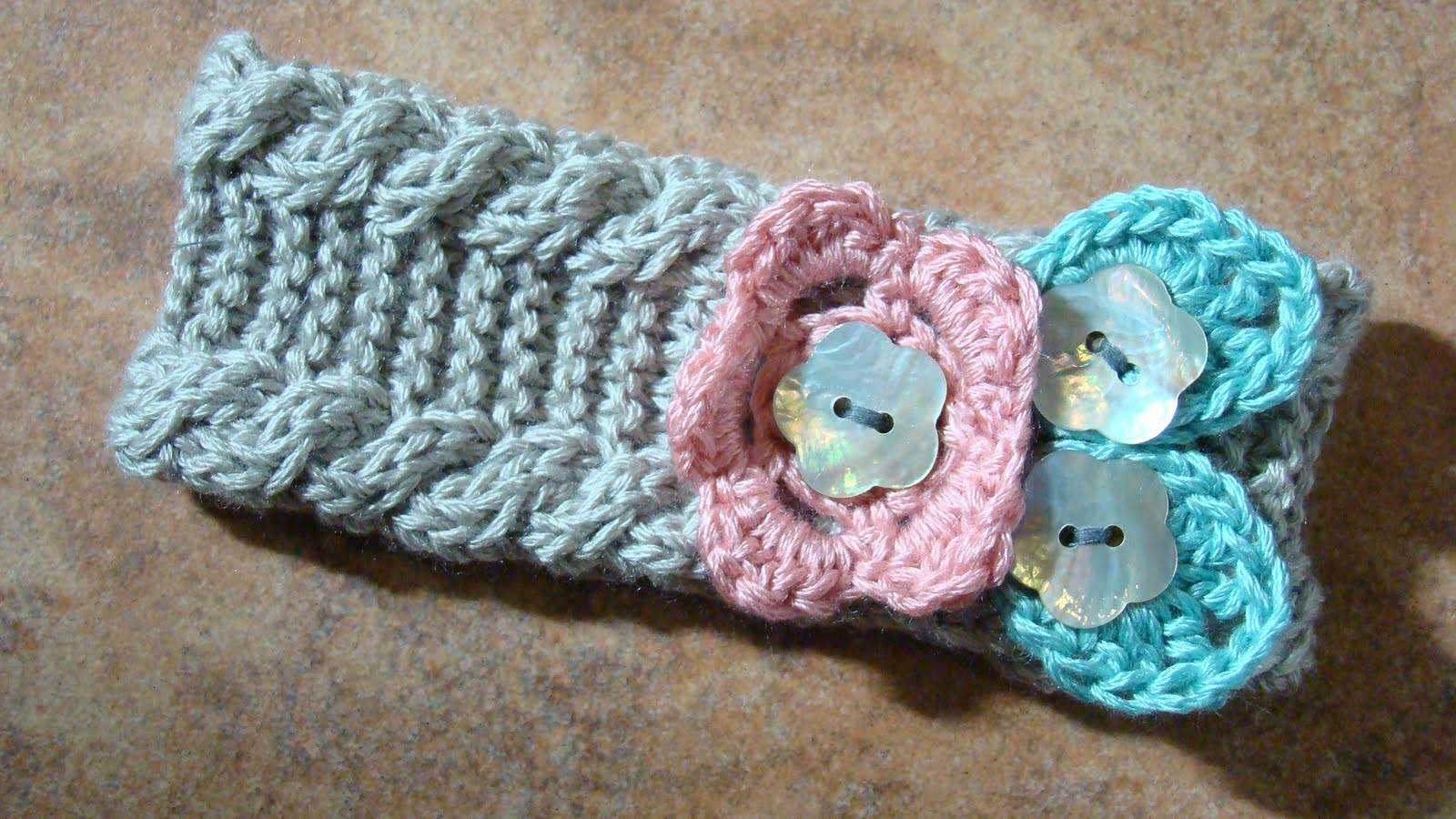 Crafts By Starlight: Knit Infant Winter Headband