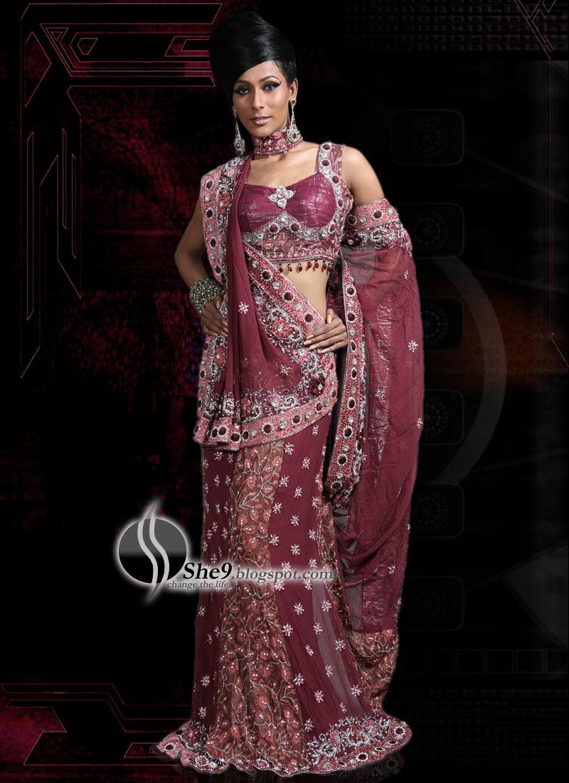 Sleeveless Saree Blouse Designs