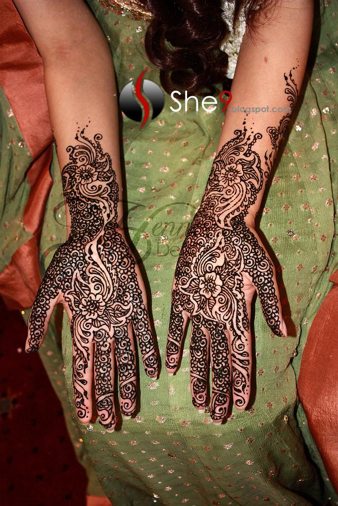 Modern Henna Designs: Modern Mehndi Designs - She9 For