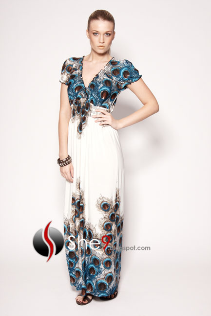 Latest Maxi Gown Dresses Western Modern Dress Collection