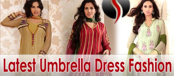Latest Salwar Kameez Fashion Umbrella Dresses She9 Change The Life Style