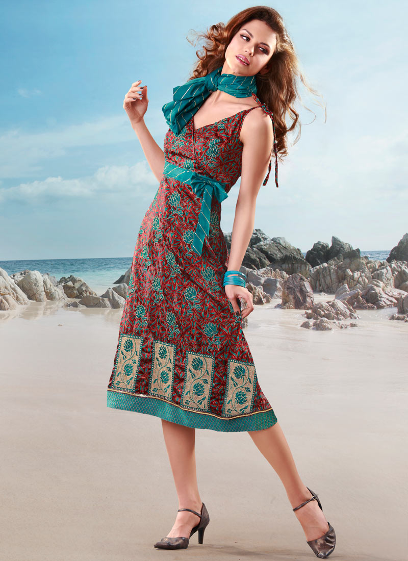 Latest Western Styles of Indian Kurti | Modern Salwar ...