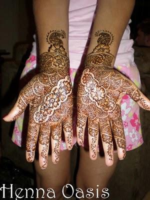 arabian mehndi design for hands Eid