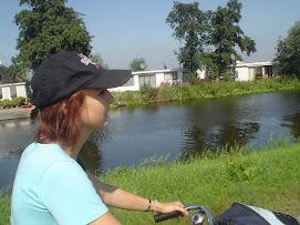 io in bici ad AMSTERDAM