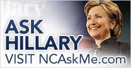 North Carolina... Ask Hillary (click here)