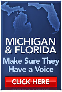 Sign petition for the votes to count in Florida and Michigan