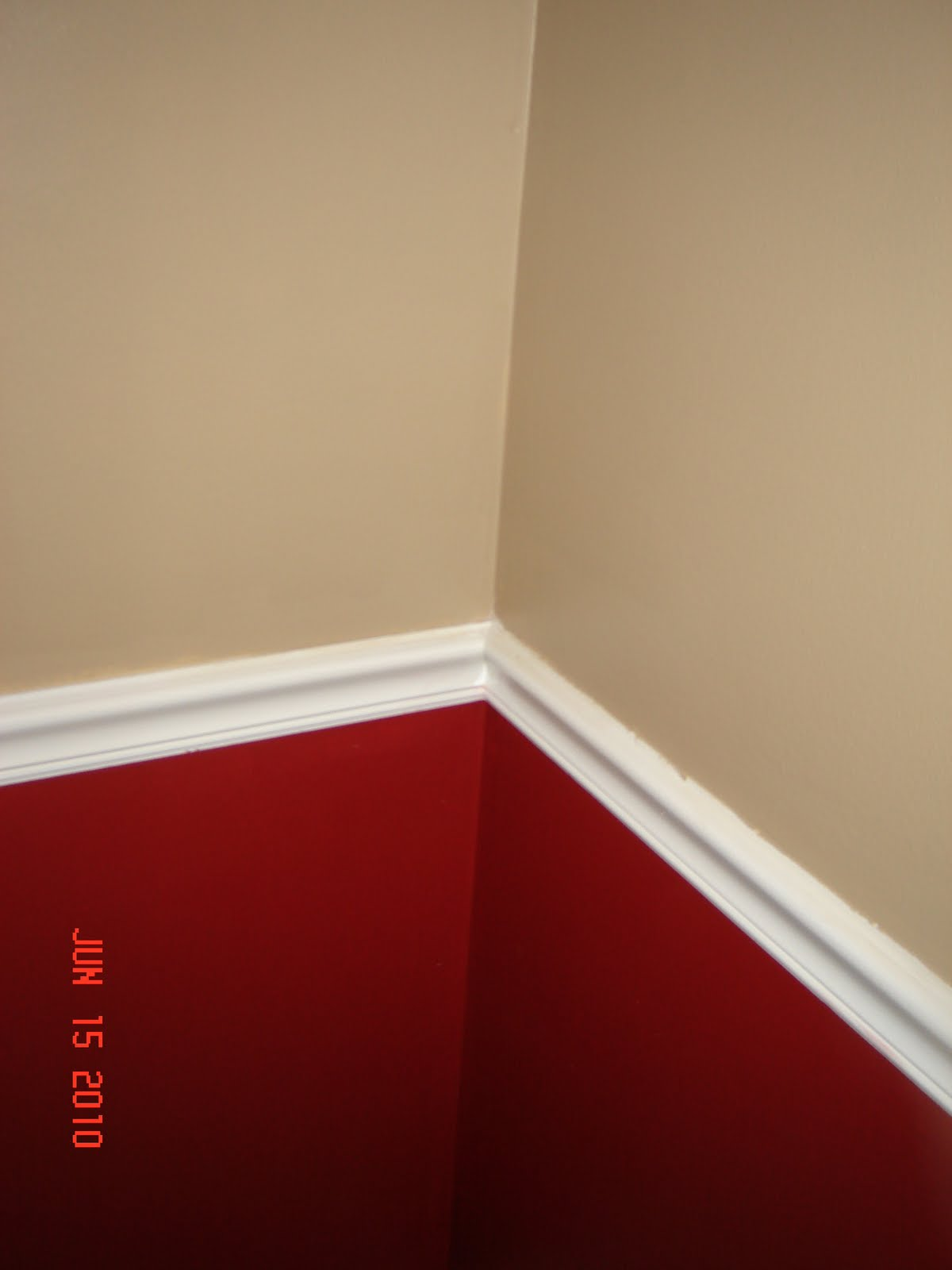Chair Rail Designs 1000 43 Ideas About Red Painted Walls On Pinterest Red