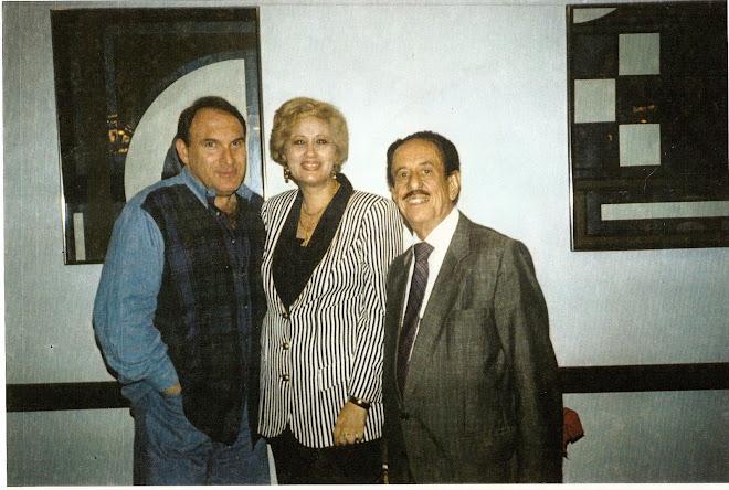 Con Maurecio Selis y Joaquín Mendível