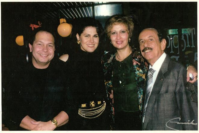 Con Maggie Carles, Luis y Mendível